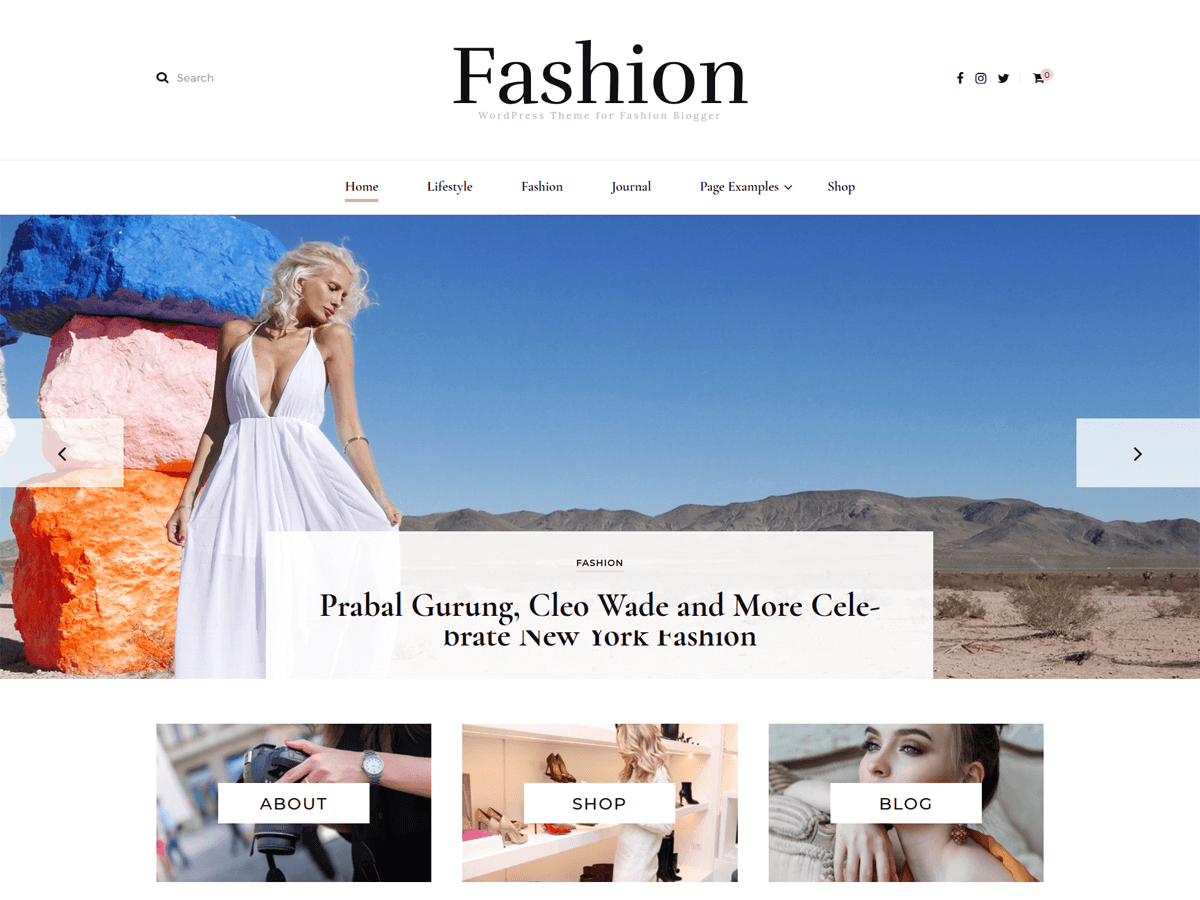 Blossom Fashion Download Free Wordpress Theme 1