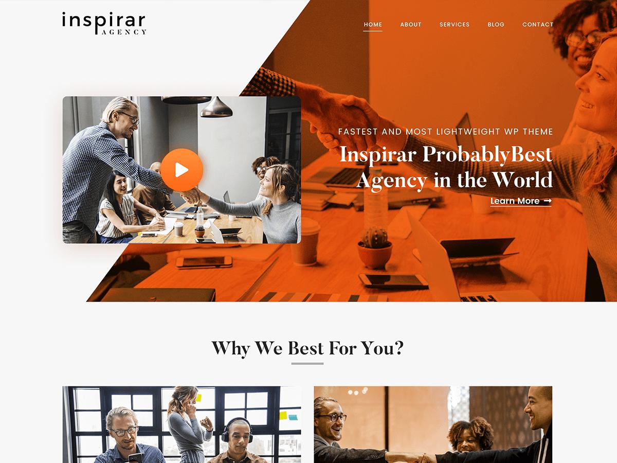 Inspirar Download Free Wordpress Theme 2