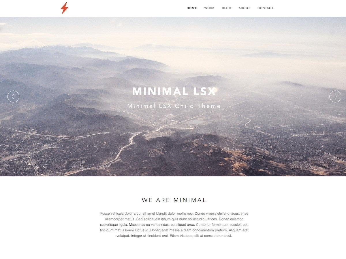 Minimal LSX Download Free Wordpress Theme 1