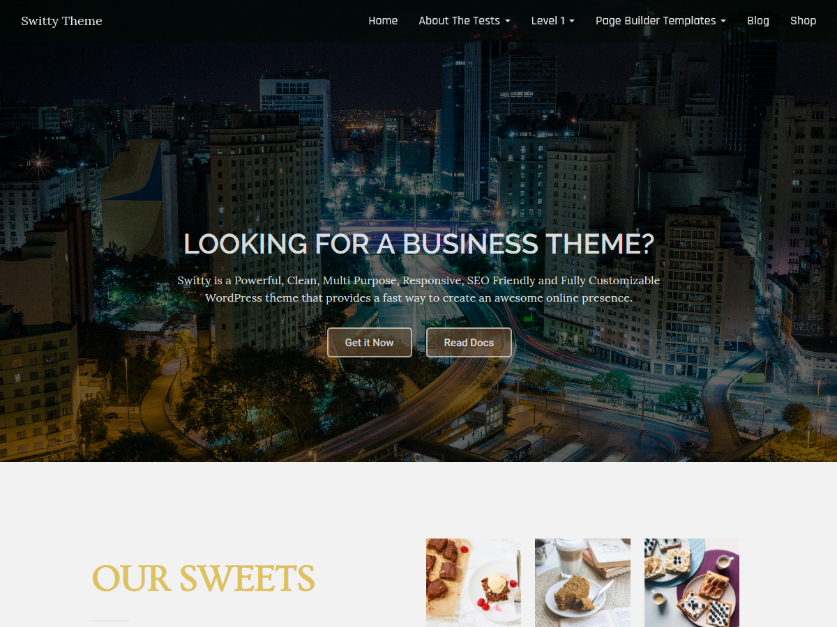 Switty Download Free Wordpress Theme 5