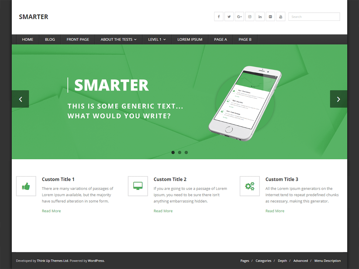 Smarter Download Free Wordpress Theme 5