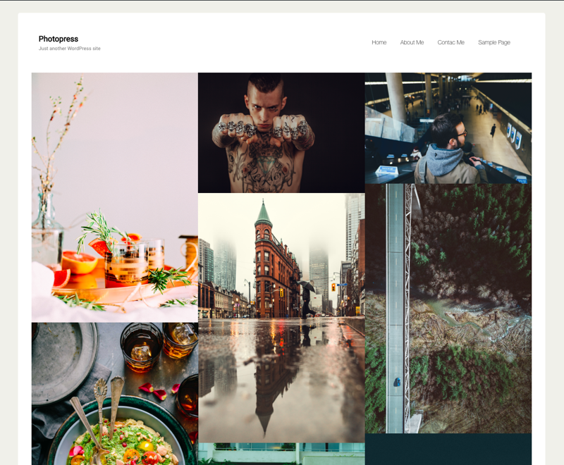 photopress Download Free Wordpress Theme 2