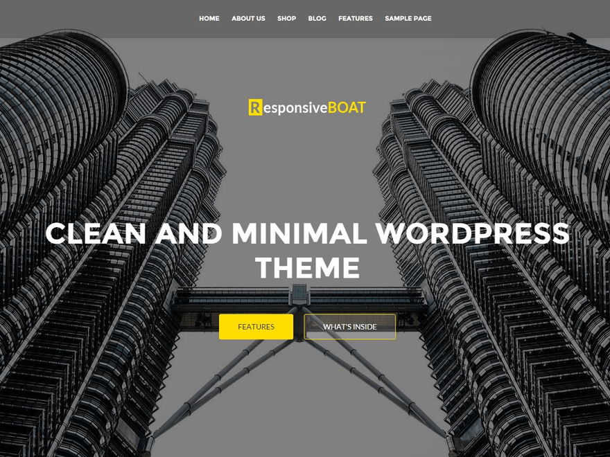 ResponsiveBoat Download Free Wordpress Theme 4