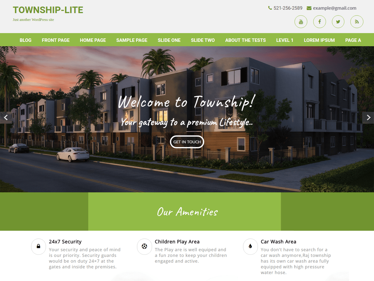 Township Lite Download Free Wordpress Theme 5
