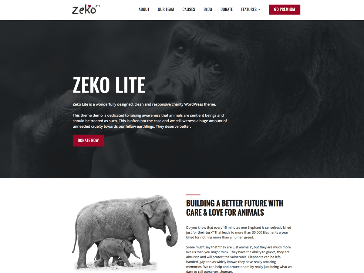 Zeko Lite Download Free Wordpress Theme 5