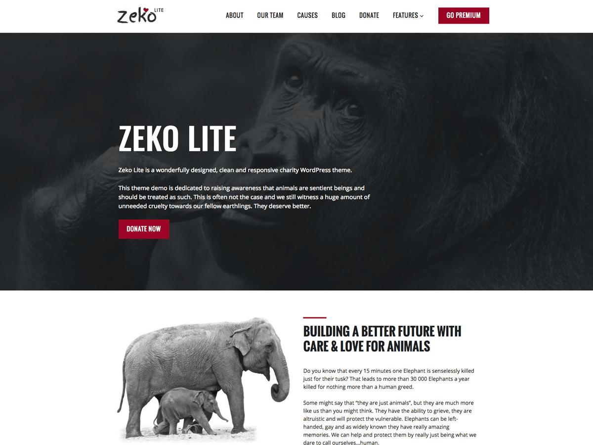 Zeko Lite Download Free Wordpress Theme 2