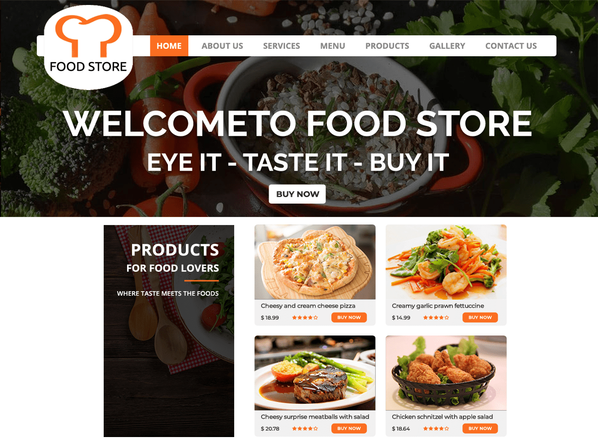 Food Restaurant Download Free Wordpress Theme 5