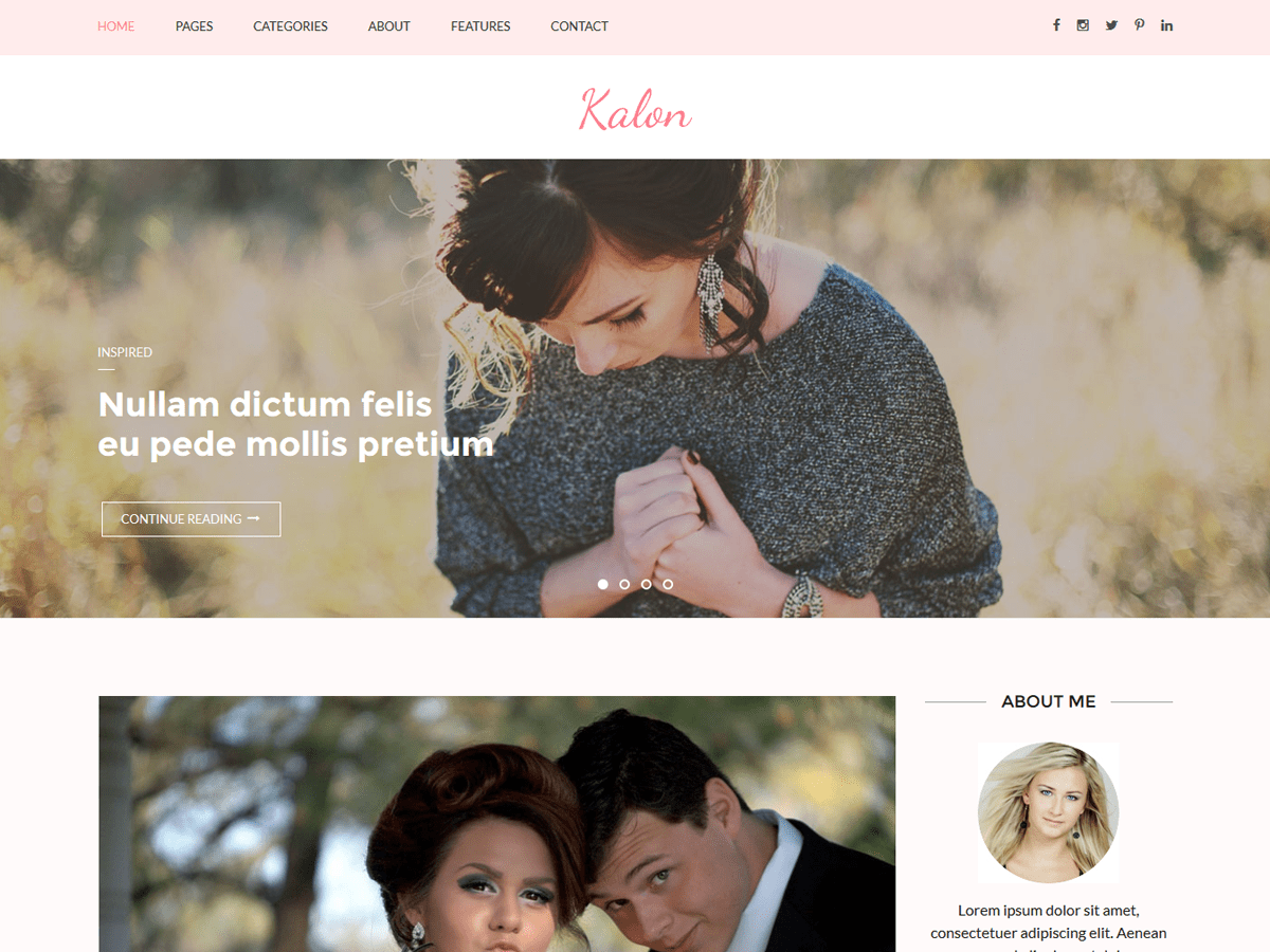 Kalon Download Free Wordpress Theme 3