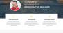 Biography Download Free WordPress Theme