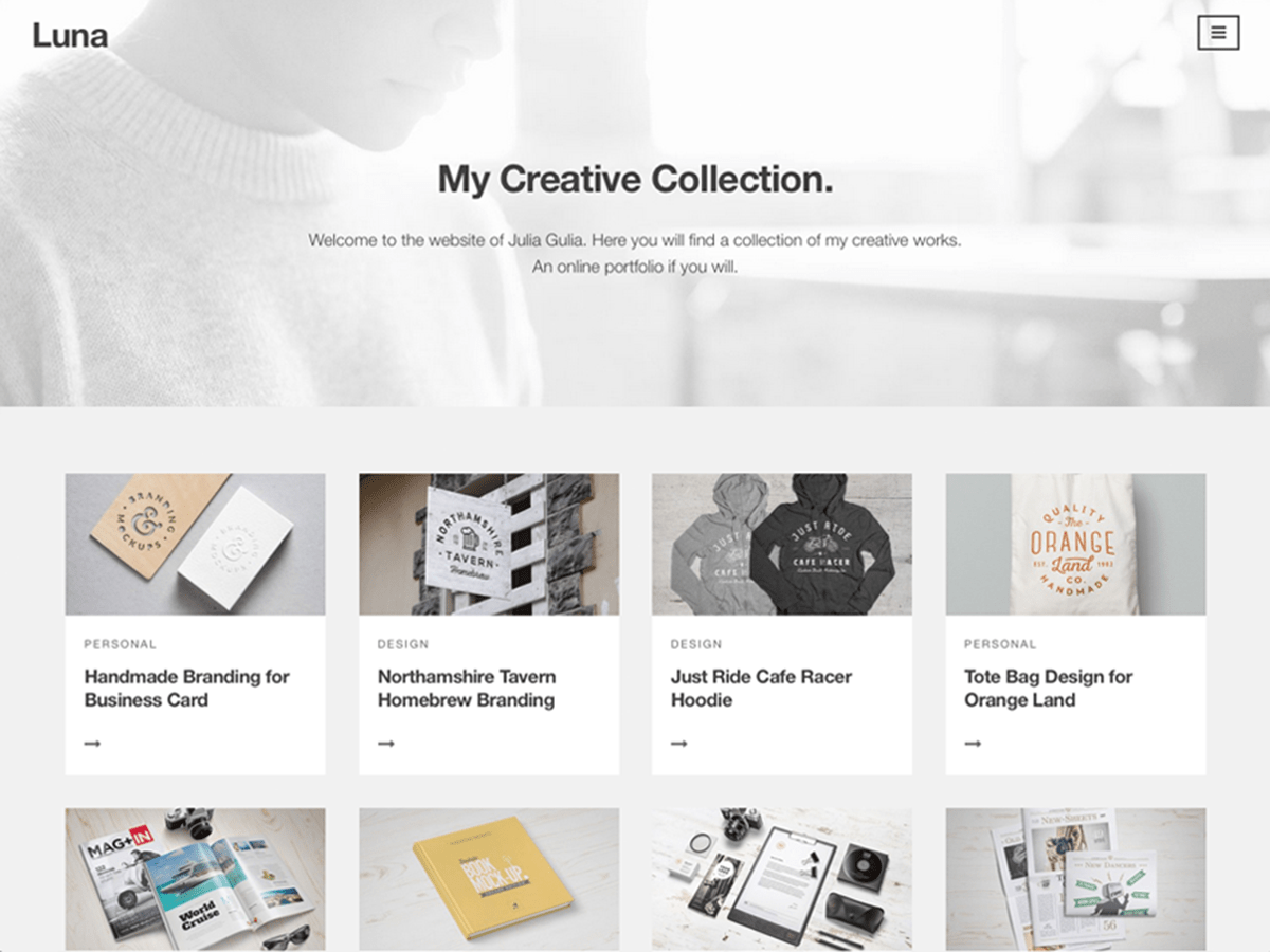 luna Download Free Wordpress Theme 2