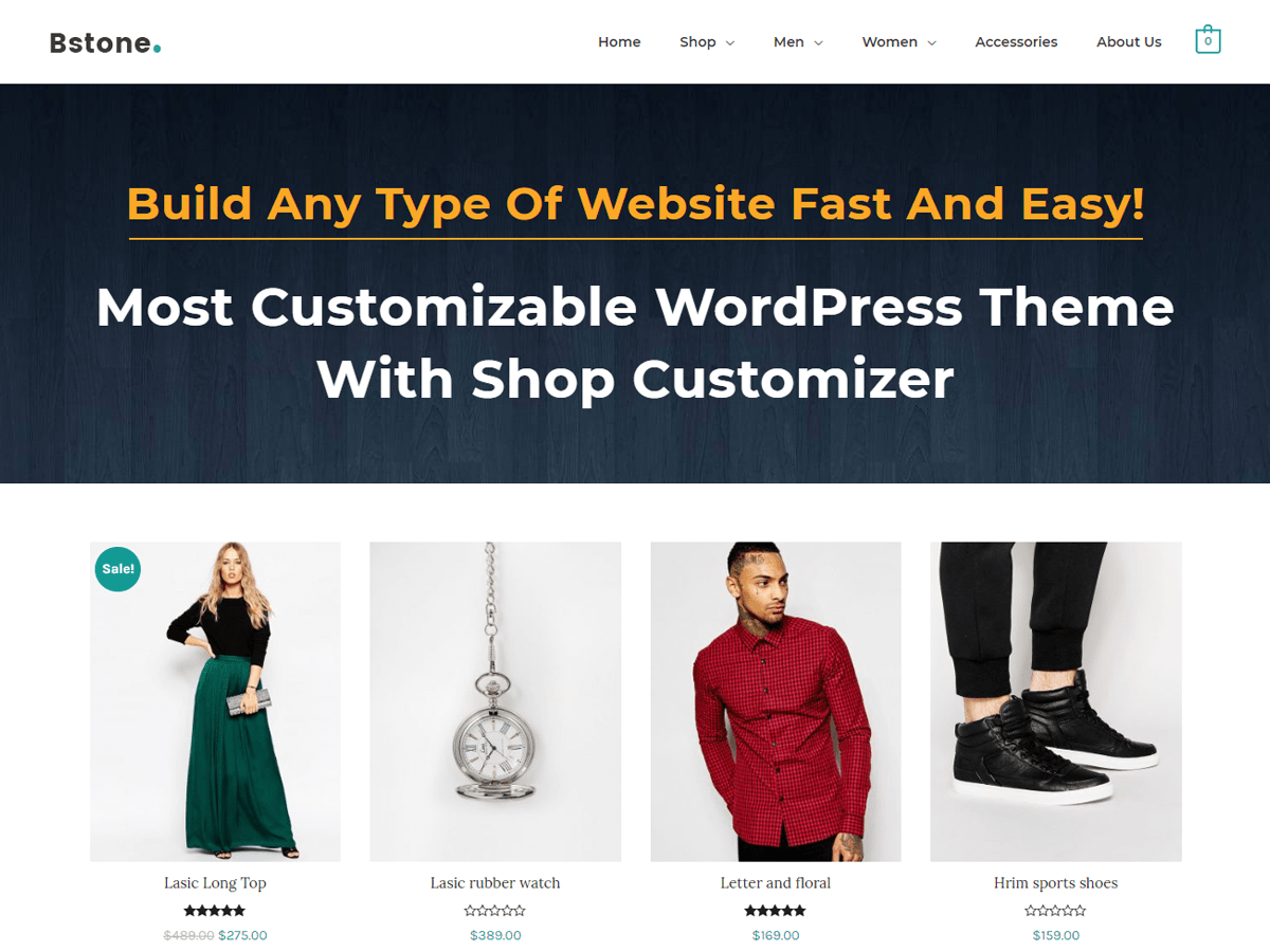 Bstone Download Free Wordpress Theme 2