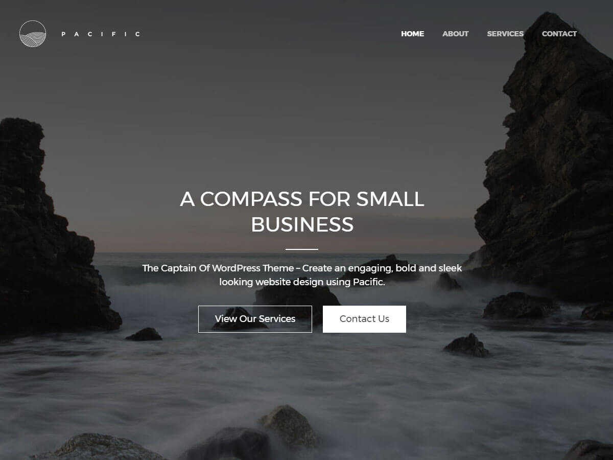 Pacific Download Free Wordpress Theme 5