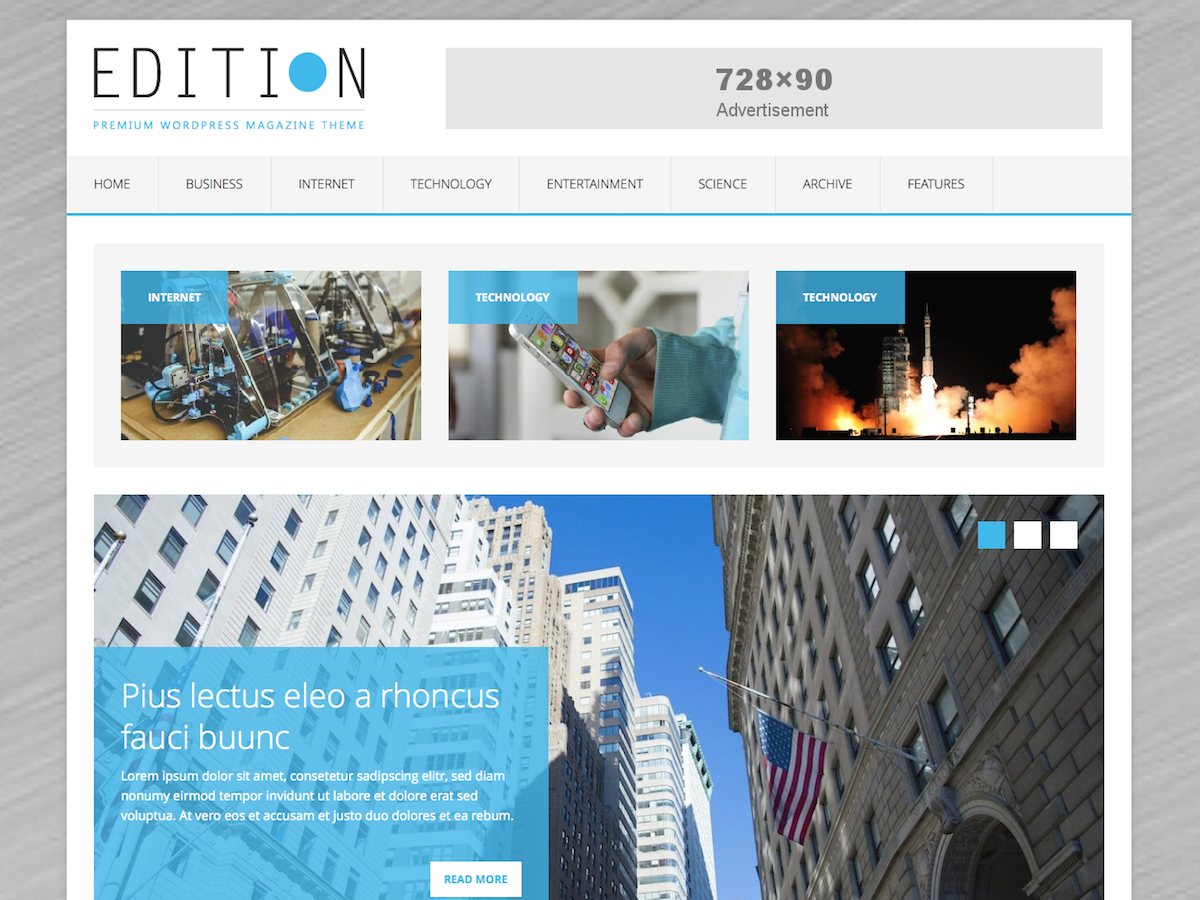 MH Edition lite Download Free Wordpress Theme 4