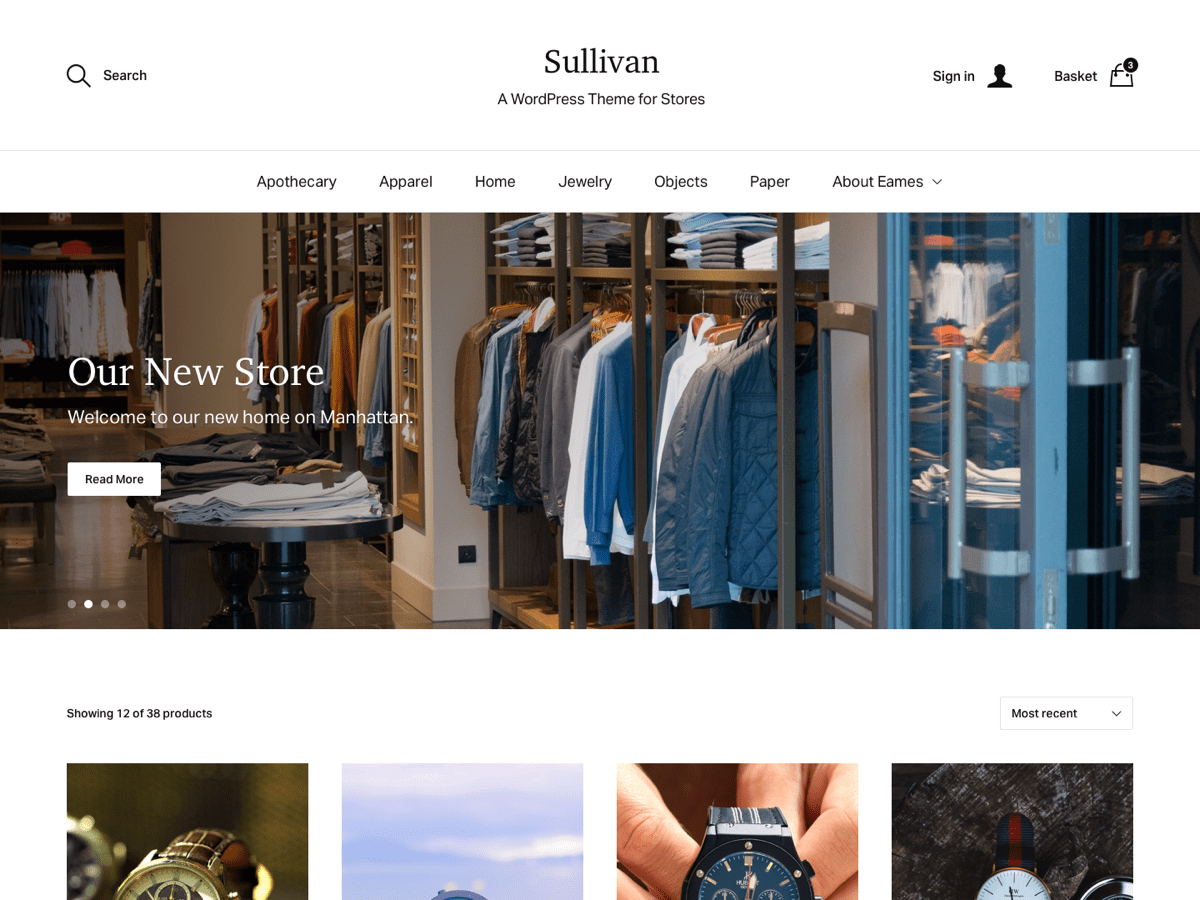 Sullivan Download Free Wordpress Theme 5