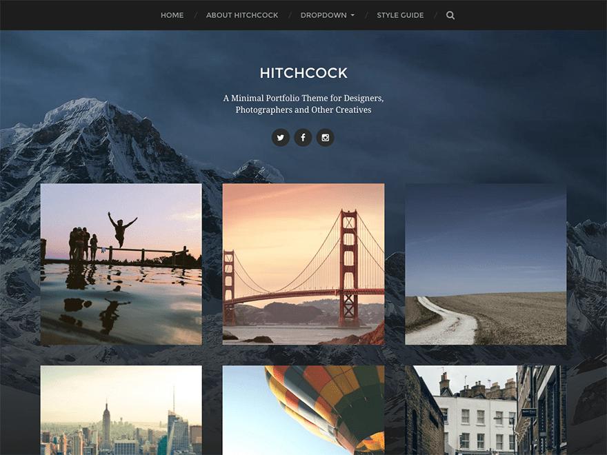 Hitchcock Download Free Wordpress Theme 1