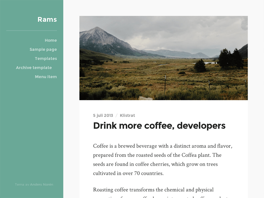 Rams Download Free Wordpress Theme 5