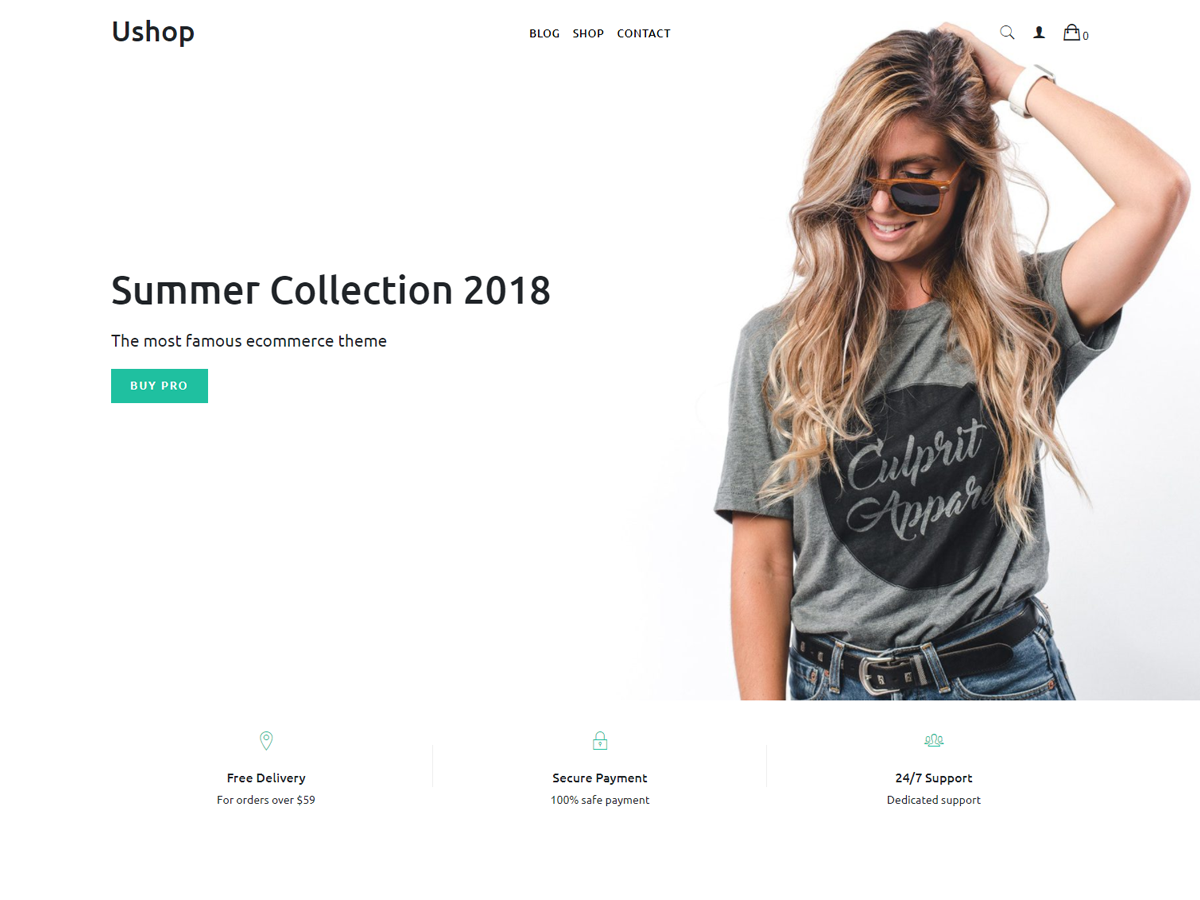 ushop Download Free Wordpress Theme 5