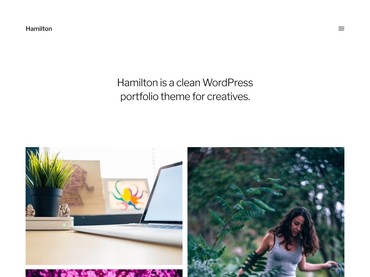 Hamilton Download Free Wordpress Theme 5