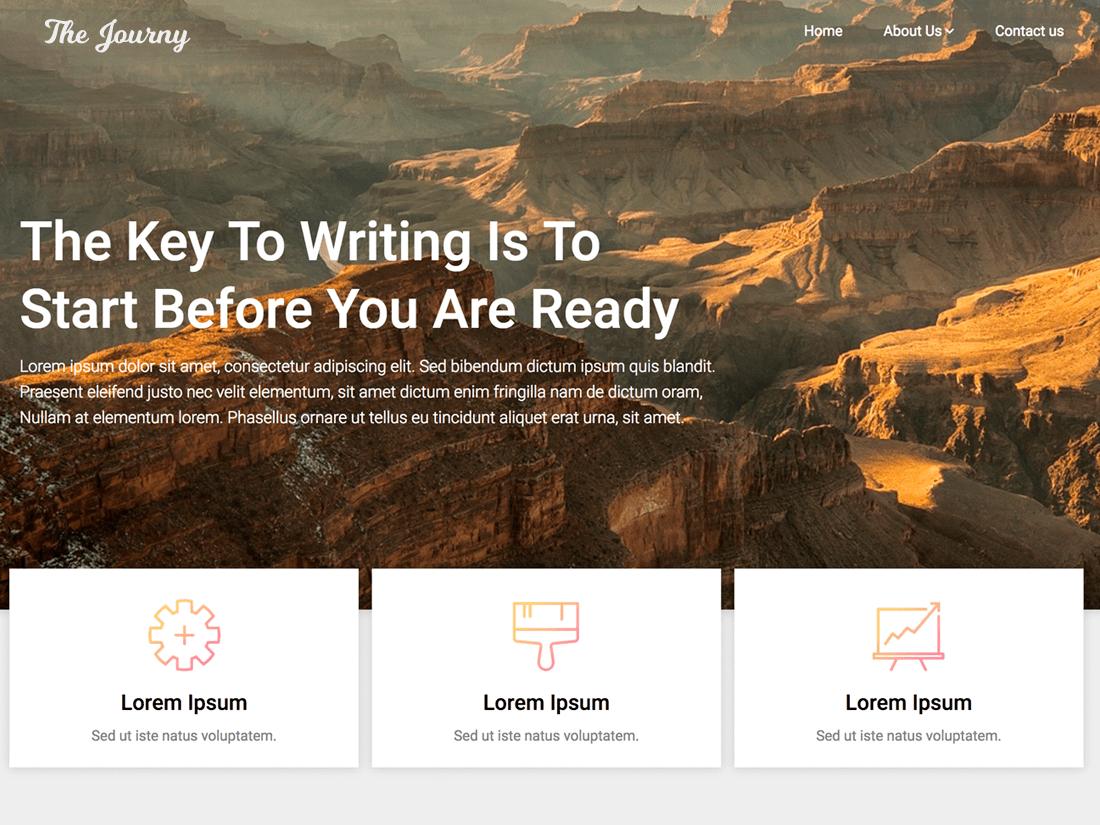 Customizable Blogily Download Free Wordpress Theme 1