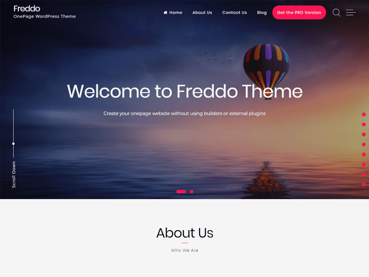 Freddo Download Free Wordpress Theme 5