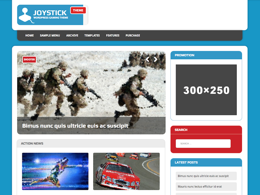 MH Joystick lite Download Free Wordpress Theme 4