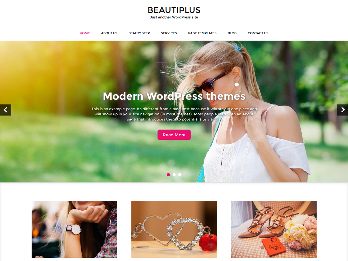 beautiplus Download Free Wordpress Theme 1