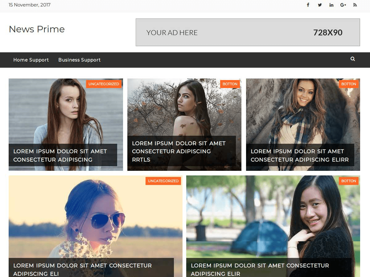News Prime Download Free Wordpress Theme 4