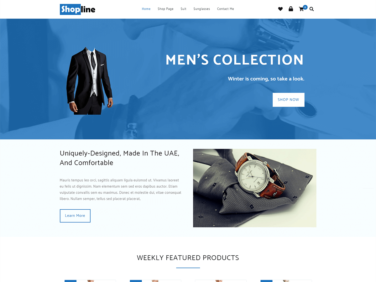 shopline Download Free Wordpress Theme 1