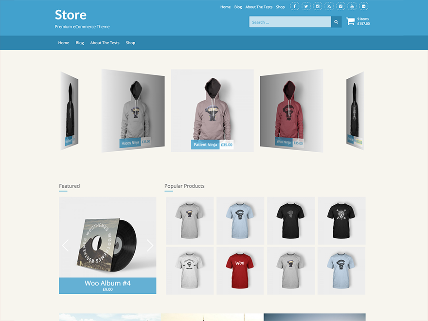 Store Download Free Wordpress Theme 1