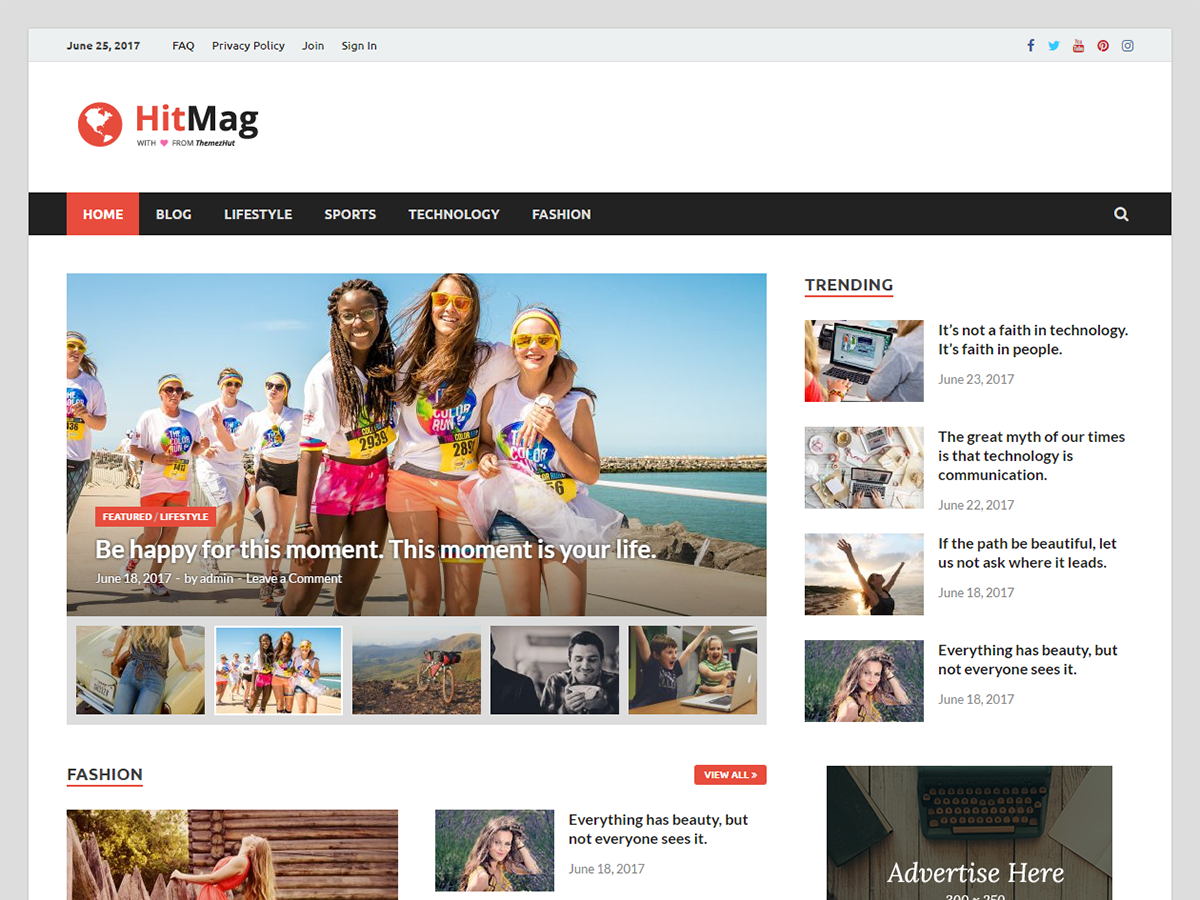 HitMag Download Free Wordpress Theme 2