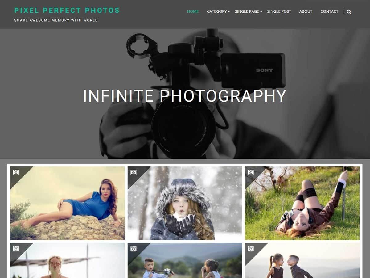 Infinite Photography Download Free Wordpress Theme 3