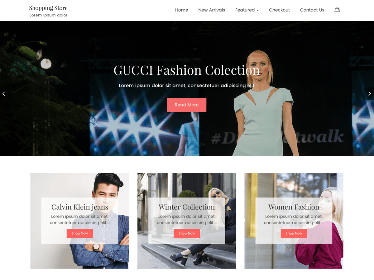 Shopping Store Lite Download Free Wordpress Theme 2