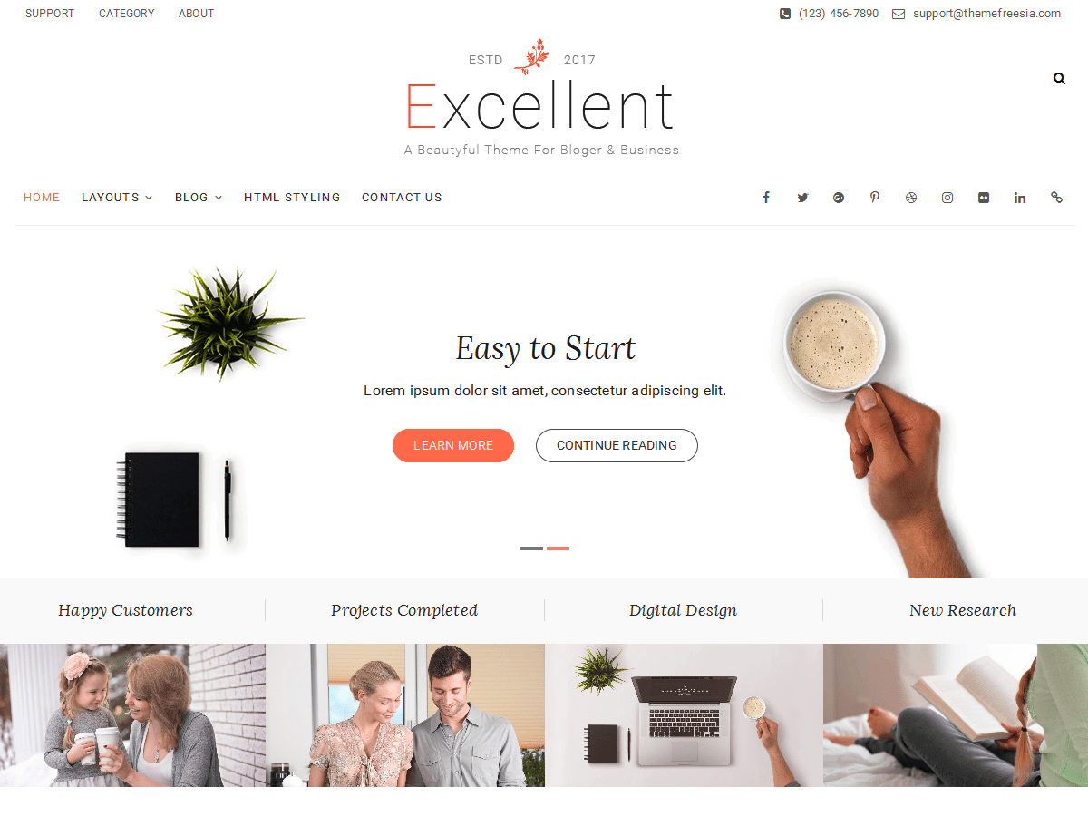 Excellent Download Free Wordpress Theme 4