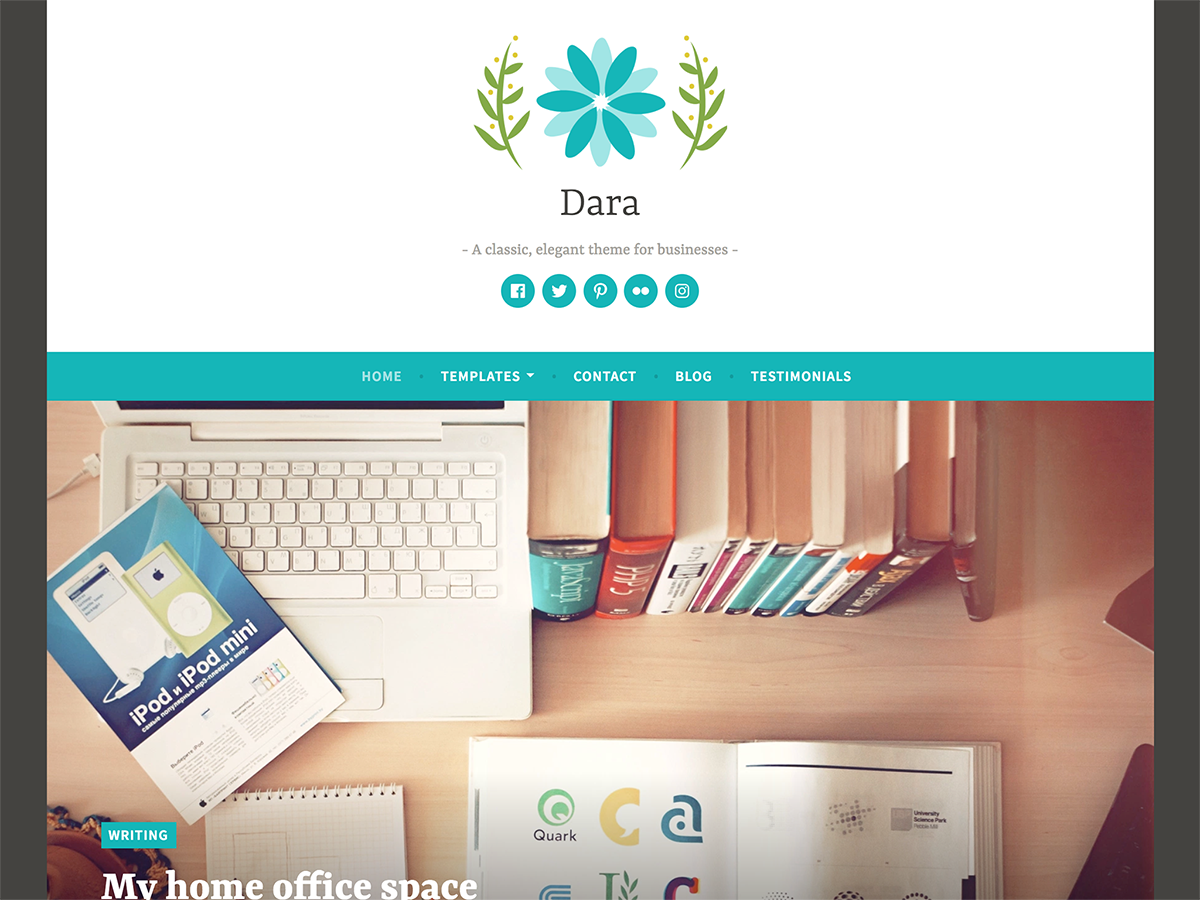 Dara Download Free Wordpress Theme 2