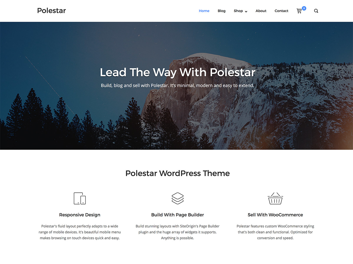Polestar Download Free Wordpress Theme 4