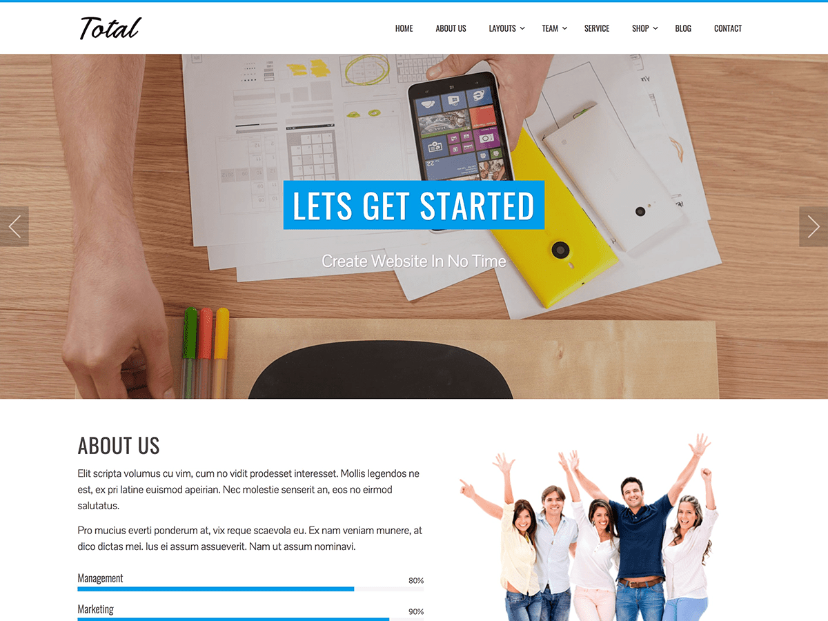 Total Download Free Wordpress Theme 2