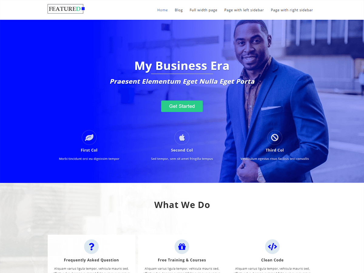 Featuredlite Download Free Wordpress Theme 4
