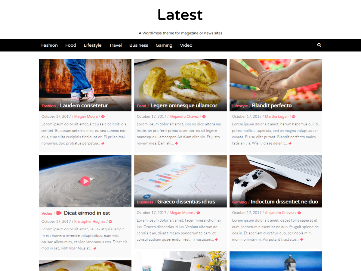 Latest Download Free Wordpress Theme 4