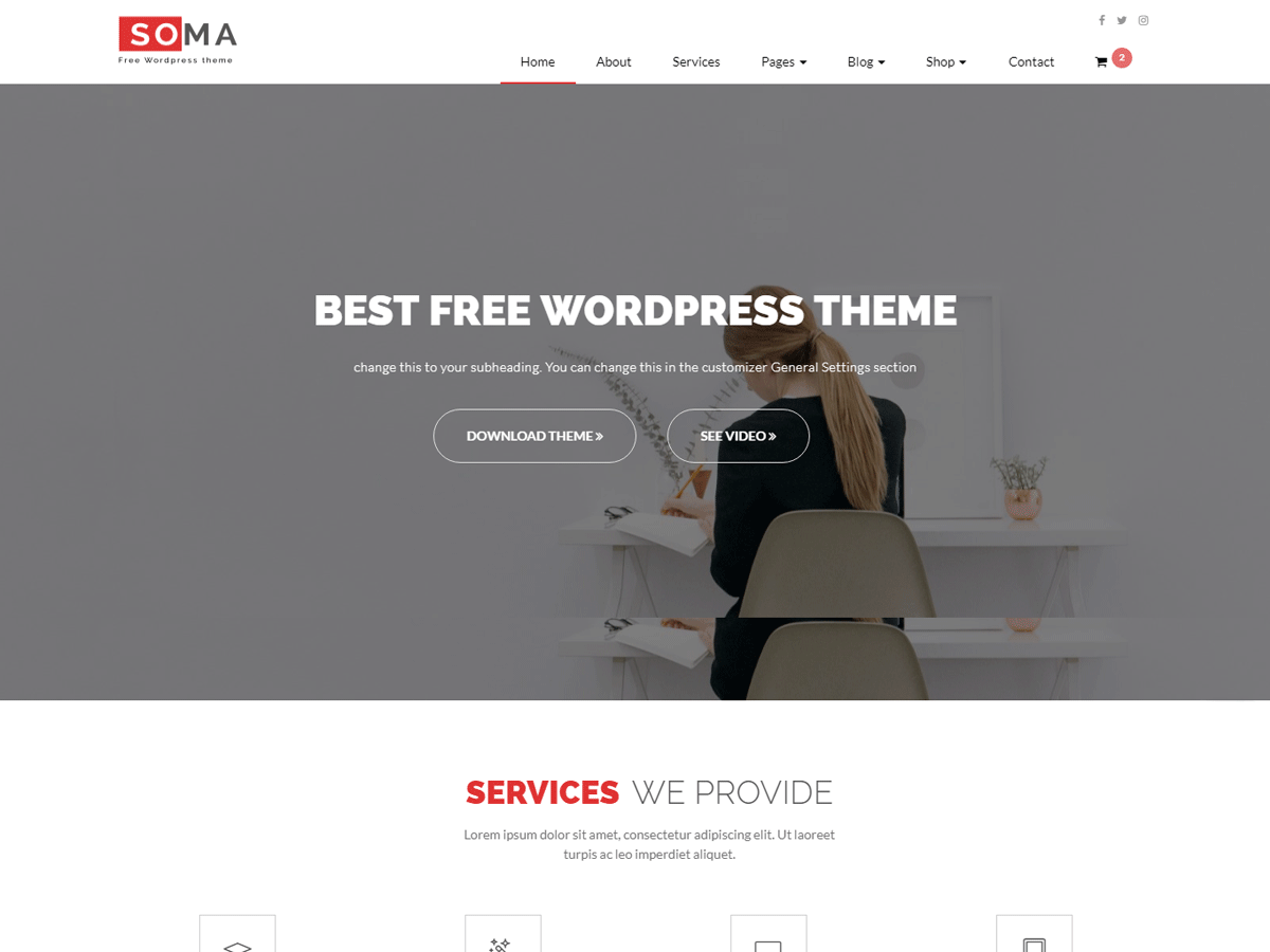 Somalite Download Free Wordpress Theme 3