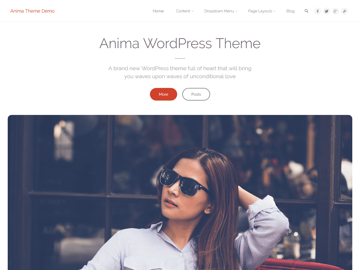 Anima Download Free Wordpress Theme 2