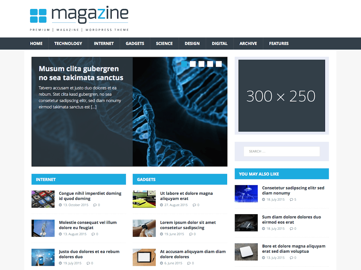 MH TechMagazine Download Free Wordpress Theme 5