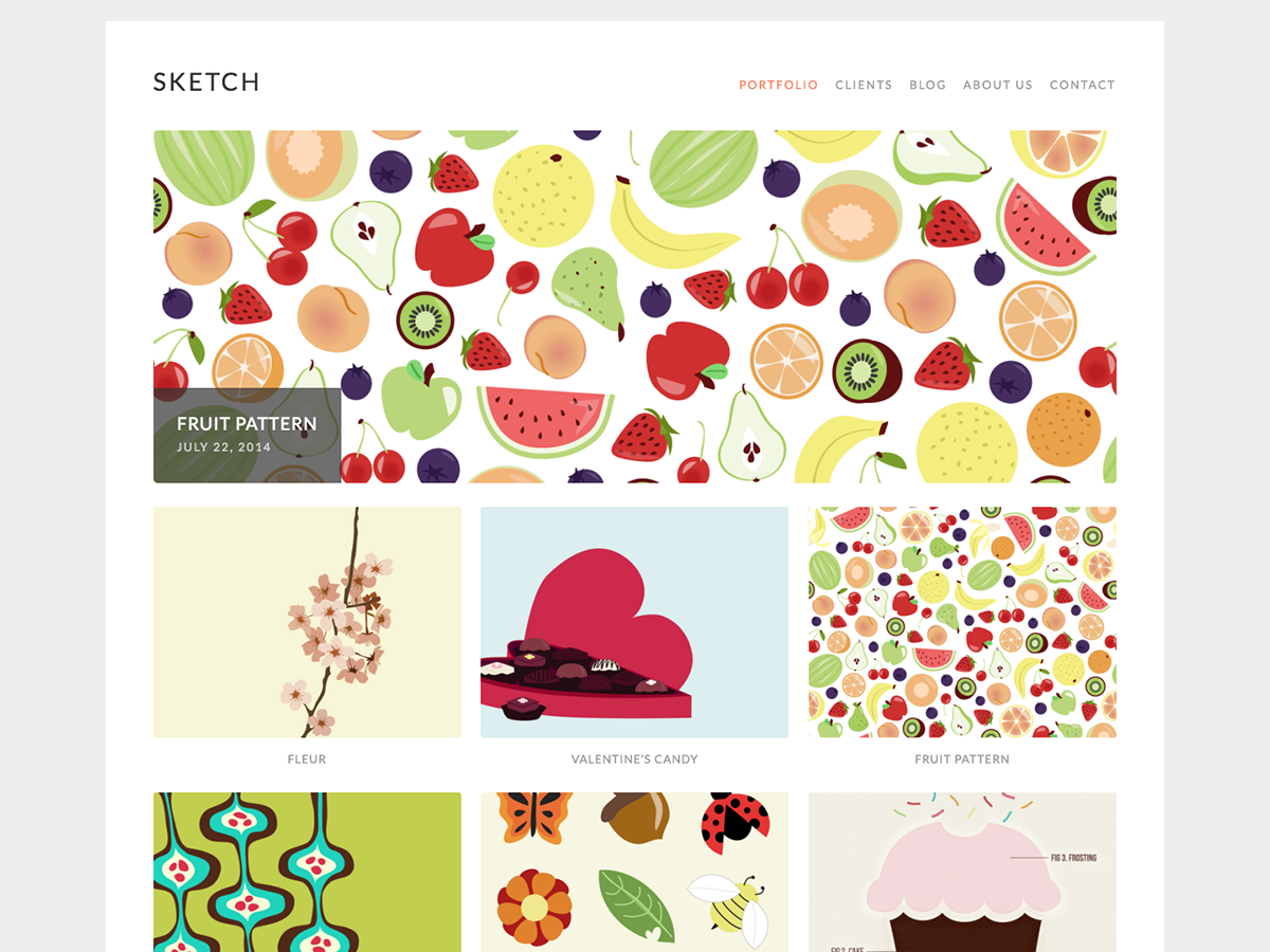 Sketch Download Free Wordpress Theme 3