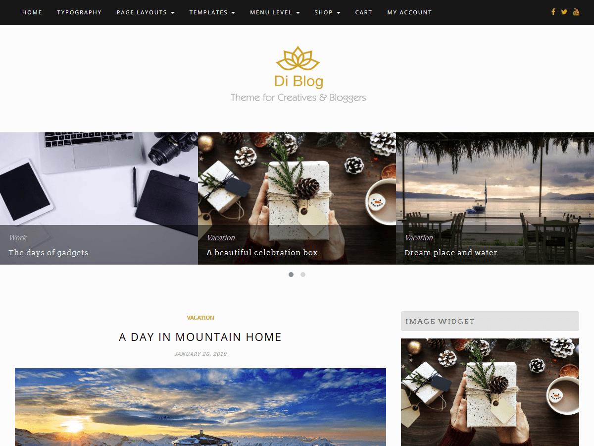 Di Blog Download Free Wordpress Theme 4