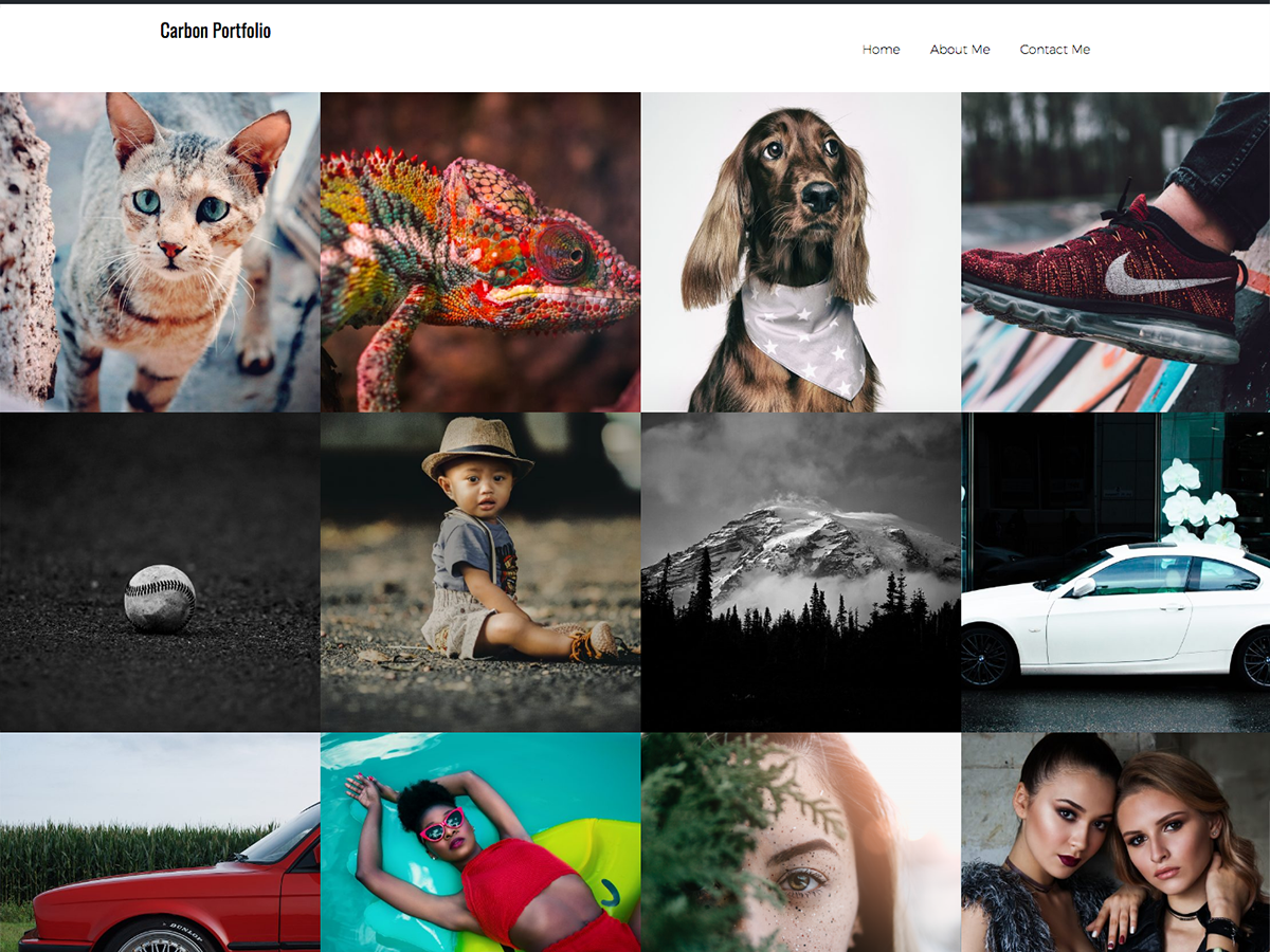 Thumbs Portfolio Download Free Wordpress Theme 1