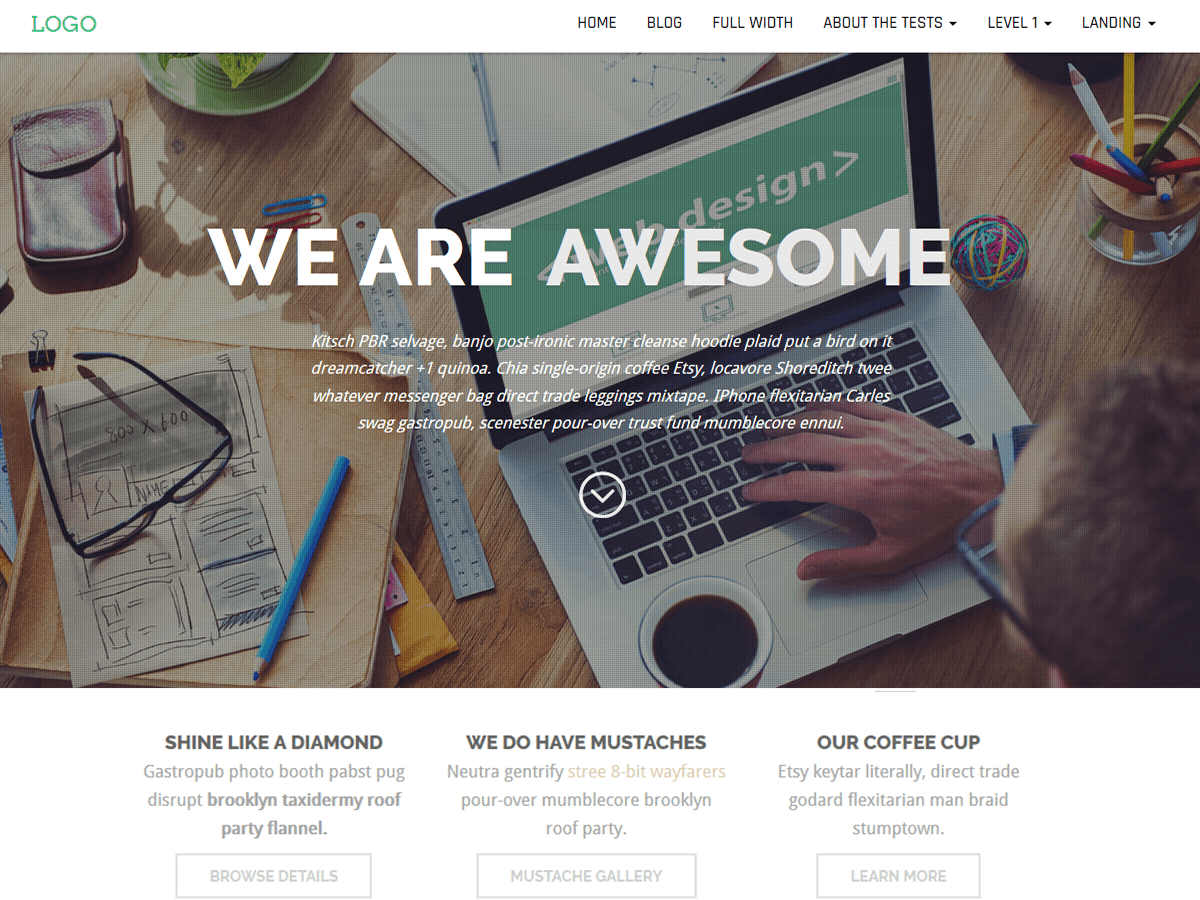 Business Press Download Free Wordpress Theme 3