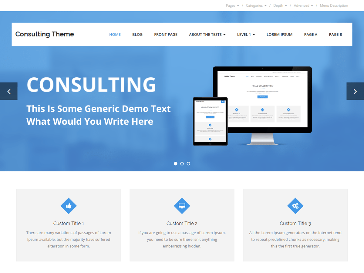 Consulting Download Free Wordpress Theme 5