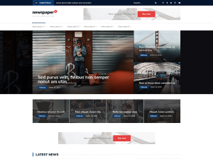 Corporate Blue Download Free Wordpress Theme 8