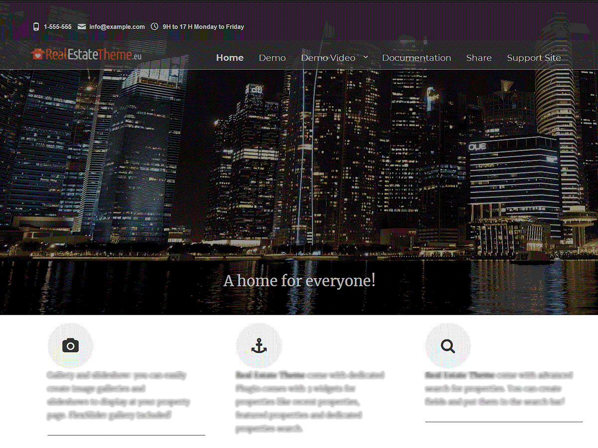 Real Estate Right Now Download Free Wordpress Theme 3