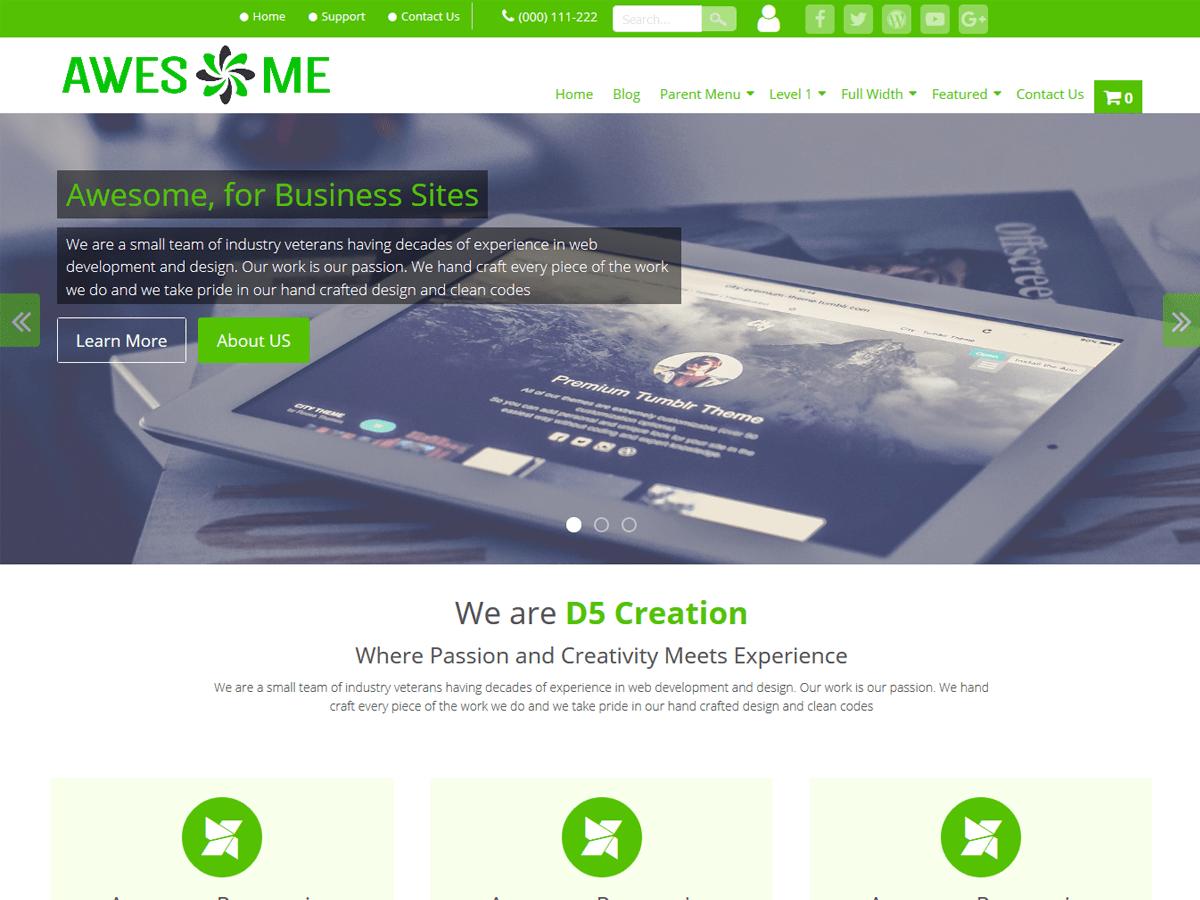 Awesome Download Free Wordpress Theme 3