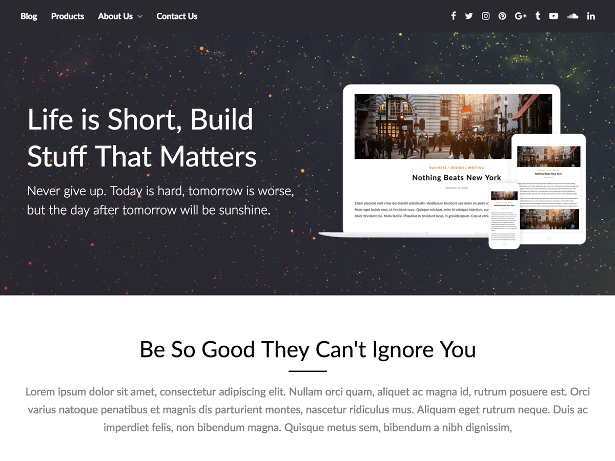 PageBuilderly Download Free Wordpress Theme 3